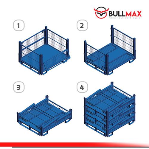 pallet mesh storage