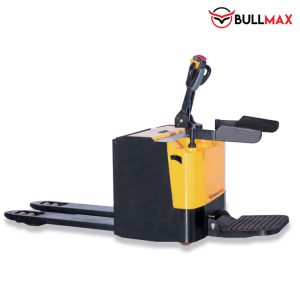 electric pallet truck with platform