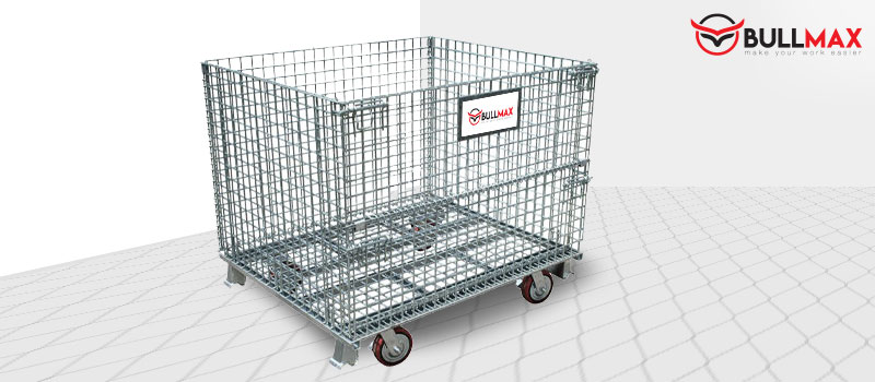 benefits-&-applications-of-a-pallet-mesh-cage